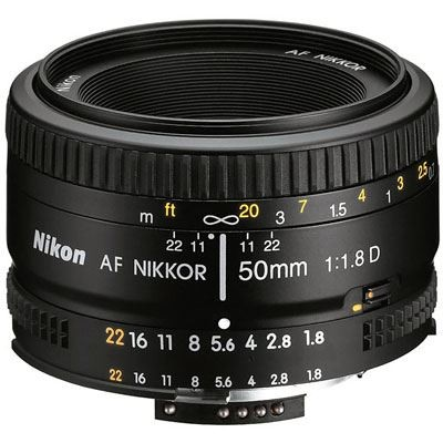 Save £14 at WEX Photo Video on Nikon 50mm f1.8 D AF Lens