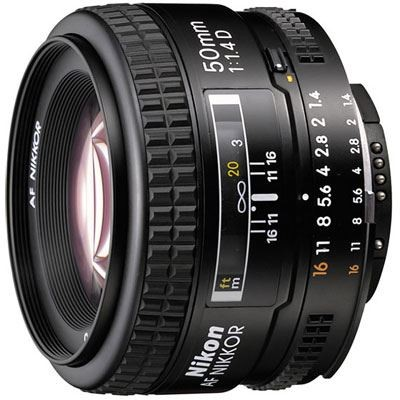 Save £29 at WEX Photo Video on Nikon 50mm f1.4 D AF Lens