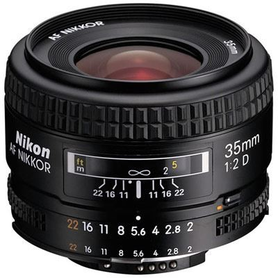 Save £32 at WEX Photo Video on Nikon 35mm f2 D AF Nikkor Lens