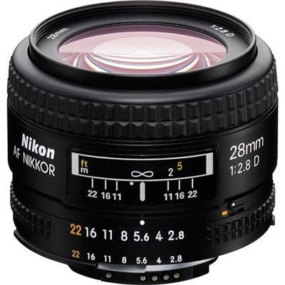 Save £30 at WEX Photo Video on Nikon 28mm f2.8 D AF Lens