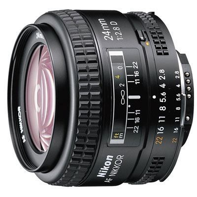 Save £45 at WEX Photo Video on Nikon 24mm f2.8 D AF Lens