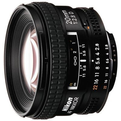 Save £58 at WEX Photo Video on Nikon 20mm f2.8 D AF Lens