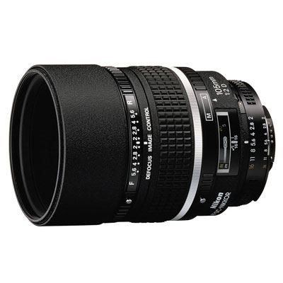 Save £104 at WEX Photo Video on Nikon 105mm f2 D AF DC Lens
