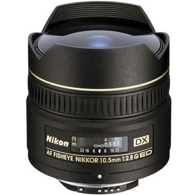 Save £74 at WEX Photo Video on Nikon 10.5mm f2.8 G IF-ED AF DX Fisheye Lens