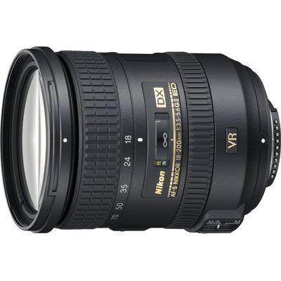 Save £45 at WEX Photo Video on Nikon 18-200mm f3.5-5.6 G AF-S DX ED VR II Lens