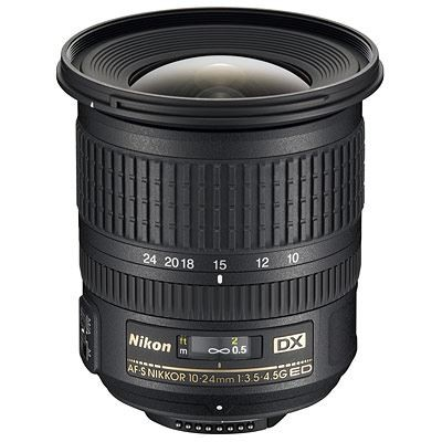 Save £85 at WEX Photo Video on Nikon 10-24mm f3.5-4.5 G AF-S DX Lens