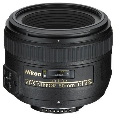 Save £39 at WEX Photo Video on Nikon 50mm f1.4 G AF-S Lens