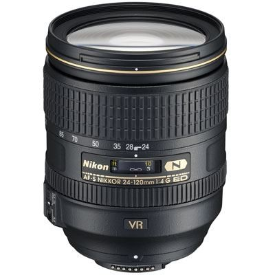 Save £108 at WEX Photo Video on Nikon 24-120mm f4 G AF-S ED VR Lens