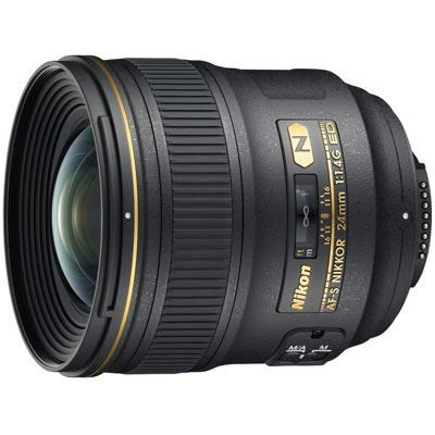 Save £180 at WEX Photo Video on Nikon 24mm f1.4 G AF-S ED Lens