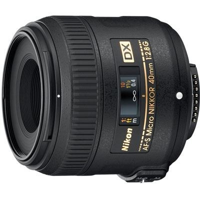 Save £27 at WEX Photo Video on Nikon 40mm f2.8 G AF-S DX Micro Lens