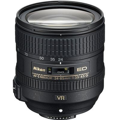 Save £49 at WEX Photo Video on Nikon 24-85mm f3.5-4.5 AF-S G ED VR Lens