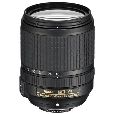 Save £54 at WEX Photo Video on Nikon 18-140mm f3.5-5.6 AF-S G ED VR DX Lens