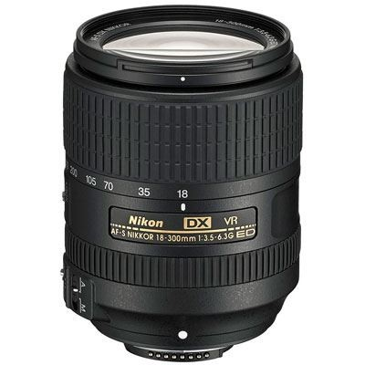 Save £53 at WEX Photo Video on Nikon 18-300mm f3.5-6.3 G ED VR AF-S DX Lens