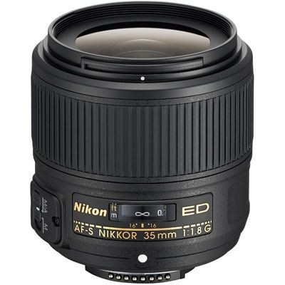 Save £47 at WEX Photo Video on Nikon 35mm f1.8 G ED AF-S Nikkor Lens