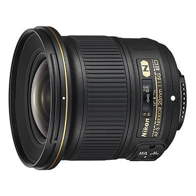 Save £69 at WEX Photo Video on Nikon 20mm f1.8G AF-S NIKKOR ED Lens