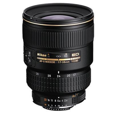 Save £180 at WEX Photo Video on Nikon 17-35mm f2.8 D AF-S IF Lens