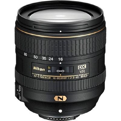 Save £99 at WEX Photo Video on Nikon 16-80mm f2.8-4E AF-S VR ED DX Lens
