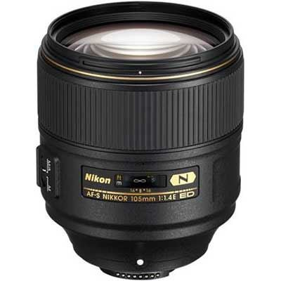 Save £180 at WEX Photo Video on Nikon 105mm f1.4E ED AF-S Lens