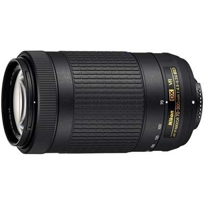 Save £34 at WEX Photo Video on Nikon 70-300mm f4.5-6.3 G ED DX AF-P VR Nikkor Lens