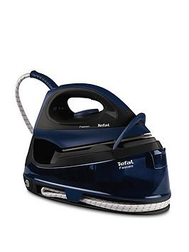 Save £51 at Very on Tefal Sv6050G0 Fasteo Steam Generator Iron - Black And Blue