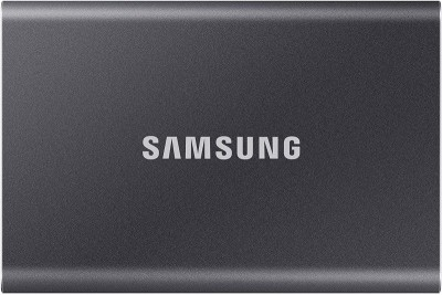 Save £12 at Ebuyer on Samsung T7 Portable SSD - 500 GB - USB 3.2 Gen.2 External SSD Titanium Grey