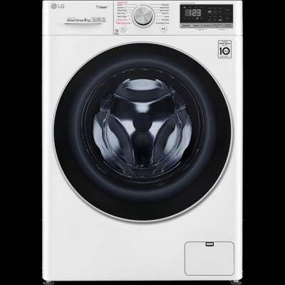 Save £99 at AO on LG V5 F4V508WS Wifi Connected 8Kg Washing Machine with 1400 rpm - White - A+++ Rated