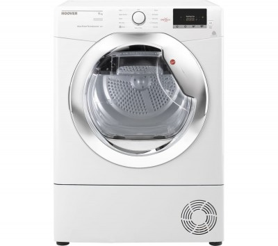 Save £50 at Currys on Hoover Tumble Dryer Dynamic Next DX H9A2DCE NFC 9 kg Heat Pump - White, White