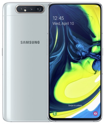 Save £291 at Argos on SIM Free Samsung A80 128GB Mobile Phone - Silver
