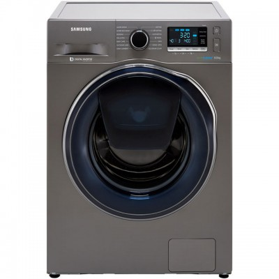 Save £120 at AO on Samsung AddWash™ ecobubble™ WW80K6414QX 8Kg Washing Machine with 1400 rpm - Graphite - A+++ Rated