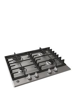 Save £20 at Very on Hoover Hoover Hmk6Grk3X 60Cm Stainless Steel Gas Hob - Hob With Installation