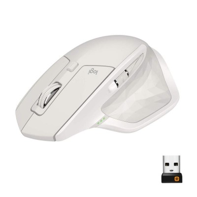 Save £18 at Ebuyer on Mx Master 2s Wireless Mouse - Light Grey - Emea In