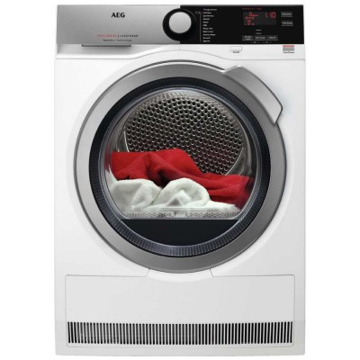Save £70 at Appliance City on AEG T7DEE835R 8kg Heat Pump Condenser Tumble Dryer 7000 Series - WHITE