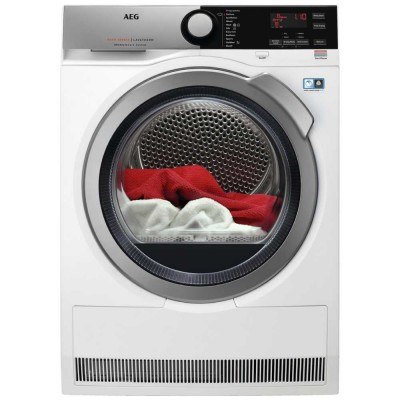 Save £110 at Appliance City on AEG T8DEE845R 8kg Heat Pump Condenser Tumble Dryer 8000 Series - WHITE