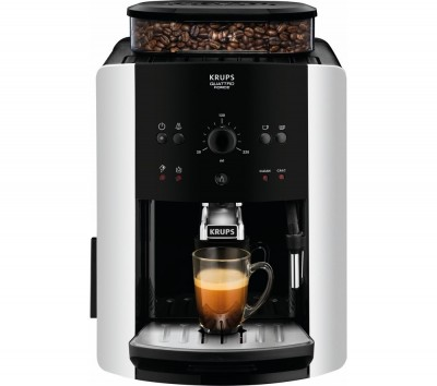 Save £100 at Currys on Arabica Manual Espresso EA811840 Bean to Cup Coffee Machine - Black & Silver, Black