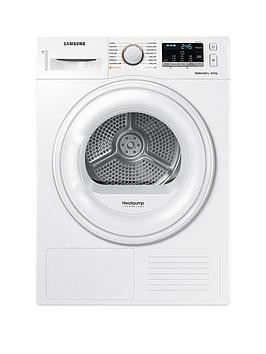 Save £80 at Very on Samsung Dv80M50101W/Eu 8Kg Load Tumble Dryer With Heat Pump Technology - White