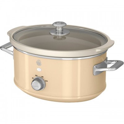 Save £26 at AO on Swan Retro SF17021CN 3.5 Litre Slow Cooker - Cream