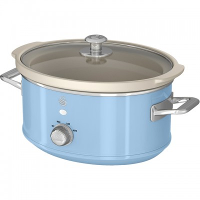 Save £9 at AO on Swan Retro SF17021BLN 3.5 Litre Slow Cooker - Blue