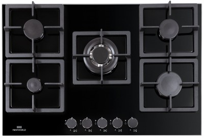 Save £100 at Argos on New World NWLEG75 Cast Iron Support Gas Hob - Black
