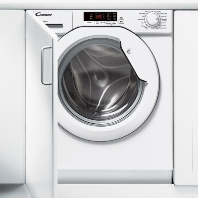 Save £43 at AO on Candy CBWM816S Integrated 8Kg Washing Machine with 1600 rpm - White - A+++ Rated