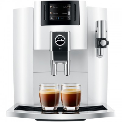 Save £346 at AO on Jura E8 15306 Bean to Cup Coffee Machine - White