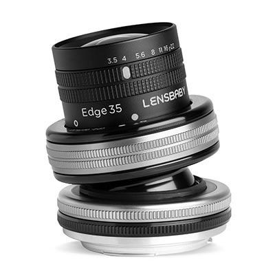 Save £44 at WEX Photo Video on Lensbaby Composer Pro II with Edge 35 Optic - Nikon F Fit