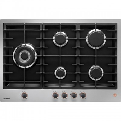 Save £80 at AO on De Dietrich DPE7729XF 75cm Gas Hob - Stainless Steel / Black