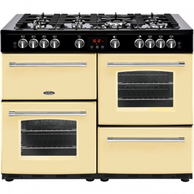 Save £289 at AO on Belling Farmhouse110GT 110cm Gas Range Cooker - Cream - A/A Rated