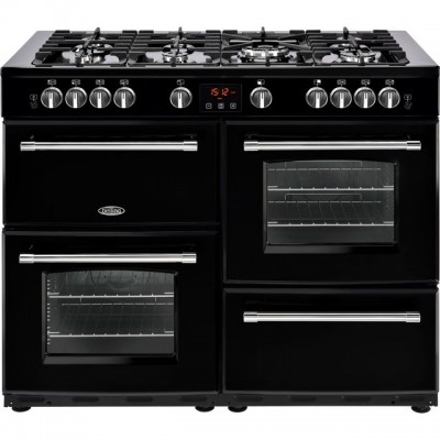 Save £170 at AO on Belling Farmhouse110GT 110cm Gas Range Cooker - Black - A/A Rated