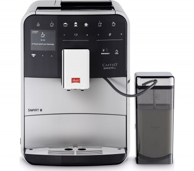 Save £101 at Currys on MELITTA Caffeo Barista TS F85/0-101 Smart Bean to Cup Coffee Machine - Silver, Silver