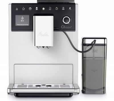 Save £304 at Currys on MELITTA CI Touch F630-101 Bean to Cup Coffee Machine - Silver, Silver