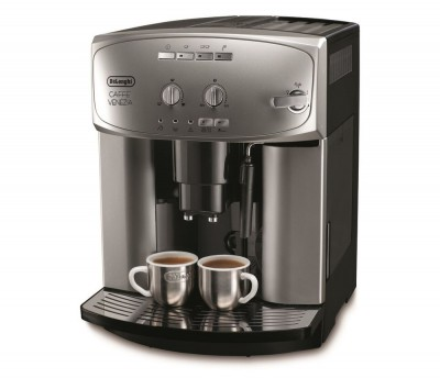 Save £100 at Currys on DELONGHI Caffe Venezia ESAM2200 Bean To Cup Coffee Machine - Silver & Black, Silver
