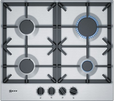 Save £40 at Currys on NEFF T26DS49N0 Gas Hob - Stainless Steel, Stainless Steel