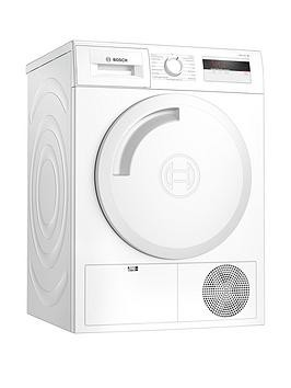 Save £150 at Very on Bosch Wth84000Gb 8Kg Load, Heat Pump Tumble Dryer - White / Silver Door