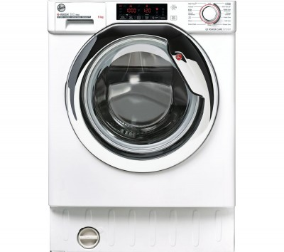 Save £50 at Currys on HOOVER H-Wash 300 HBWOS 69TAMCET Integrated WiFi-enabled 9 kg 1600 Spin Washing Machine - White, White